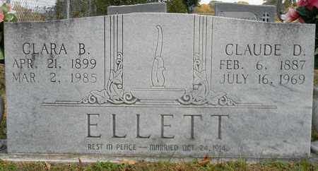 ELLETT, CLAUDE D - Madison County, Alabama | CLAUDE D ELLETT - Alabama Gravestone Photos