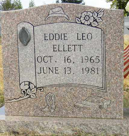 ELLETT, EDDIE LEO - Madison County, Alabama | EDDIE LEO ELLETT - Alabama Gravestone Photos