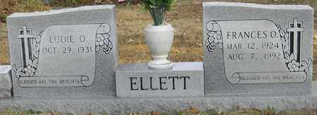ELLETT, FRANCES O - Madison County, Alabama | FRANCES O ELLETT - Alabama Gravestone Photos