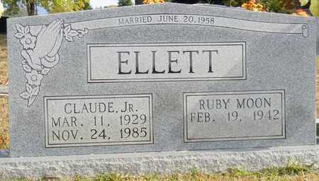 ELLETT, JR, CLAUDE - Madison County, Alabama | CLAUDE ELLETT, JR - Alabama Gravestone Photos