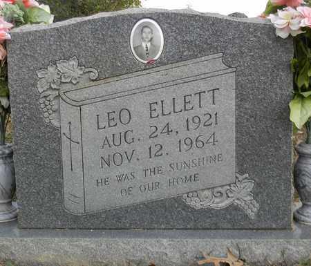 ELLETT, LEO - Madison County, Alabama | LEO ELLETT - Alabama Gravestone Photos