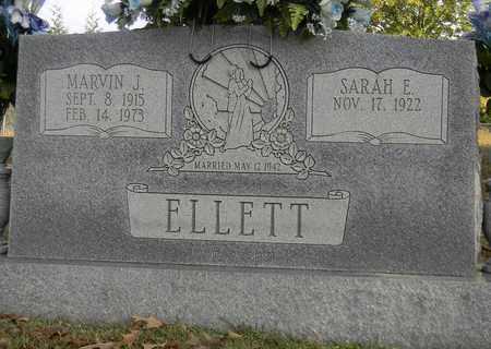 ELLETT, MARVIN J - Madison County, Alabama | MARVIN J ELLETT - Alabama Gravestone Photos