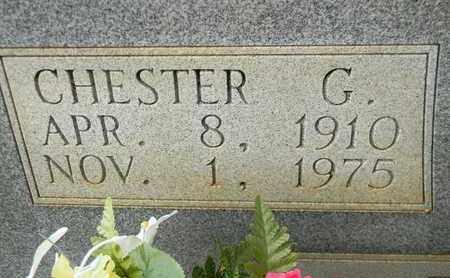 EVETT (CLOSEUP), CHESTER G - Madison County, Alabama | CHESTER G EVETT (CLOSEUP) - Alabama Gravestone Photos