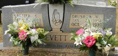 EVETT, DRUSILLA W - Madison County, Alabama | DRUSILLA W EVETT - Alabama Gravestone Photos