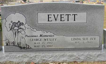 EVETT, GEORGE WESLEY - Madison County, Alabama | GEORGE WESLEY EVETT - Alabama Gravestone Photos
