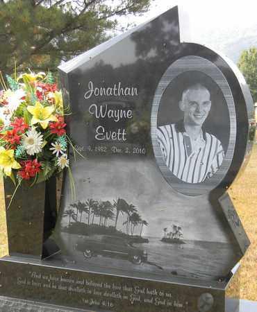 EVETT, JONATHAN WAYNE - Madison County, Alabama | JONATHAN WAYNE EVETT - Alabama Gravestone Photos