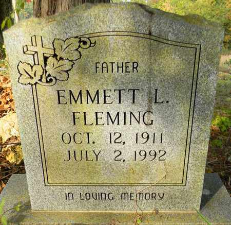 FLEMING, EMMETT L - Madison County, Alabama | EMMETT L FLEMING - Alabama Gravestone Photos