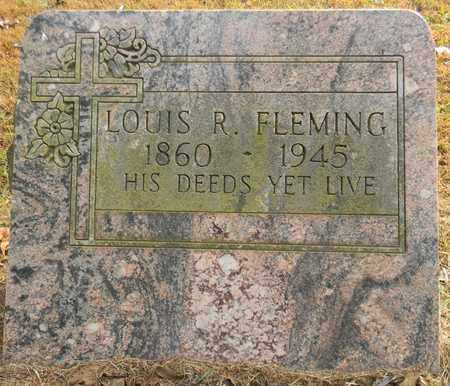 FLEMING, LOUIS R - Madison County, Alabama | LOUIS R FLEMING - Alabama Gravestone Photos