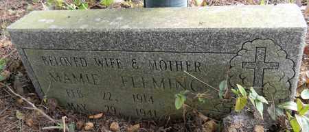 FLEMING, MAMIE - Madison County, Alabama | MAMIE FLEMING - Alabama Gravestone Photos