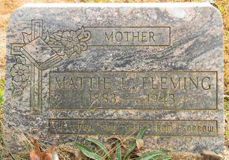 FLEMING, MATTIE L - Madison County, Alabama | MATTIE L FLEMING - Alabama Gravestone Photos
