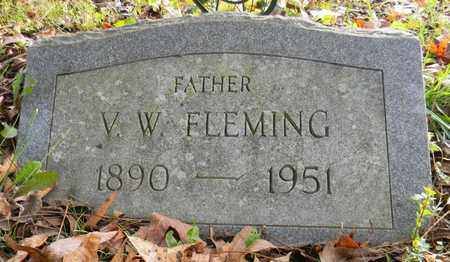 FLEMING, V W - Madison County, Alabama | V W FLEMING - Alabama Gravestone Photos