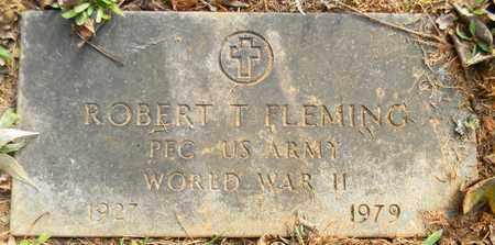 FLEMING (VETERAN WWII), ROBERT T - Madison County, Alabama | ROBERT T FLEMING (VETERAN WWII) - Alabama Gravestone Photos
