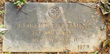 FLEMING (VETERAN WWII), ROBERT T - Madison County, Alabama   ROBERT T FLEMING (VETERAN WWII) - Alabama Gravestone Photos