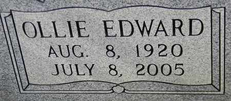 GENTLE (CLOSEUP), OLLIE EDWARD - Madison County, Alabama | OLLIE EDWARD GENTLE (CLOSEUP) - Alabama Gravestone Photos