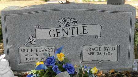 GENTLE, OLLIE EDWARD - Madison County, Alabama | OLLIE EDWARD GENTLE - Alabama Gravestone Photos