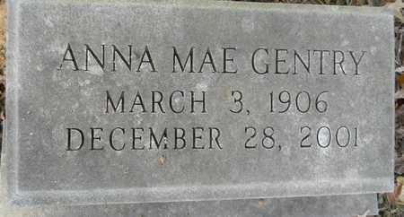 GENTRY, ANNA MAE - Madison County, Alabama   ANNA MAE GENTRY - Alabama Gravestone Photos