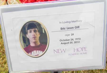 GILL, ERIC LEON - Madison County, Alabama | ERIC LEON GILL - Alabama Gravestone Photos