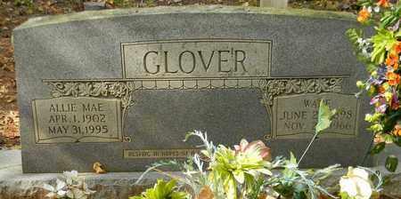 GLOVER, ALLIE MAE - Madison County, Alabama   ALLIE MAE GLOVER - Alabama Gravestone Photos