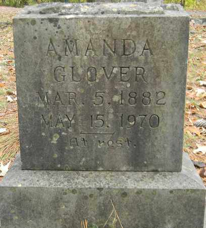 GLOVER, AMANDA - Madison County, Alabama | AMANDA GLOVER - Alabama Gravestone Photos