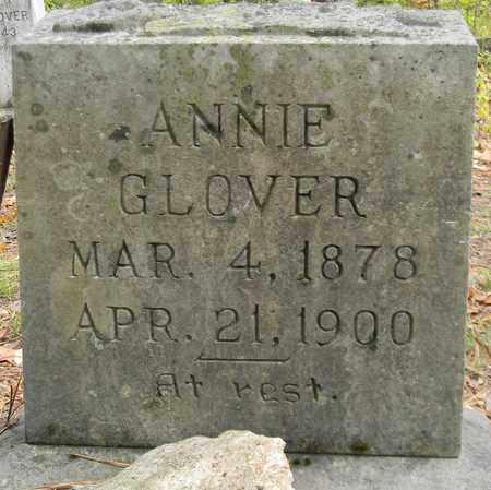 GLOVER, ANNIE - Madison County, Alabama | ANNIE GLOVER - Alabama Gravestone Photos