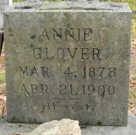 GLOVER, ANNIE - Madison County, Alabama | ANNIE GLOVER - Alabama Gravestone Photos