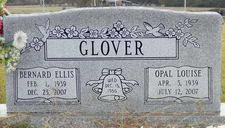 GLOVER, BERNARD ELLIS - Madison County, Alabama | BERNARD ELLIS GLOVER - Alabama Gravestone Photos
