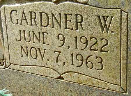 GLOVER (CLOSEUP), GARDNER W - Madison County, Alabama   GARDNER W GLOVER (CLOSEUP) - Alabama Gravestone Photos