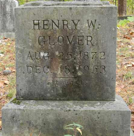 GLOVER, HENRY W - Madison County, Alabama | HENRY W GLOVER - Alabama Gravestone Photos