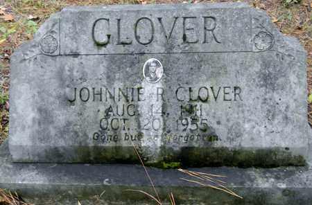 GLOVER, JOHNNIE R - Madison County, Alabama | JOHNNIE R GLOVER - Alabama Gravestone Photos