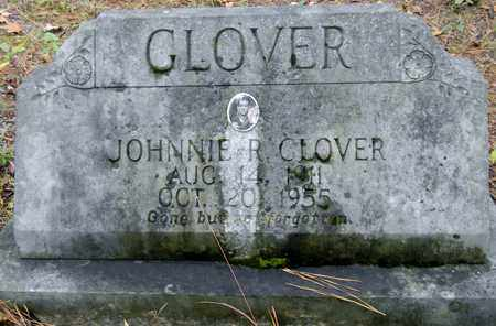GLOVER, JOHNNIE R - Madison County, Alabama | JOHNNIE R GLOVER - Alabama Gravestone Photos