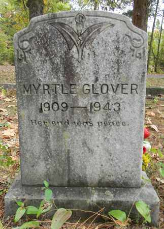 GLOVER, MYRTLE - Madison County, Alabama | MYRTLE GLOVER - Alabama Gravestone Photos