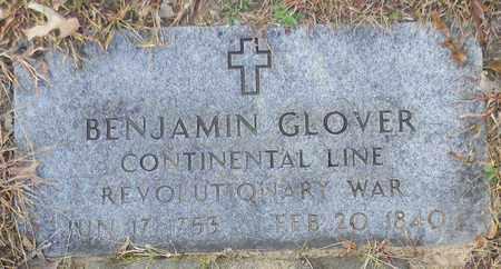 GLOVER (VETERAN RW), BENJAMIN - Madison County, Alabama | BENJAMIN GLOVER (VETERAN RW) - Alabama Gravestone Photos