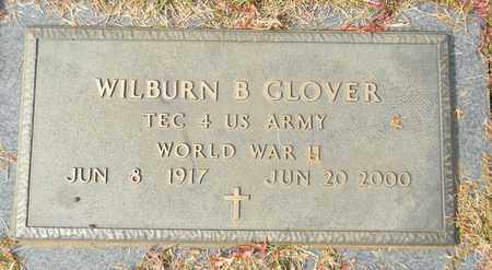 GLOVER (VETERAN WWII), WILBURN B - Madison County, Alabama | WILBURN B GLOVER (VETERAN WWII) - Alabama Gravestone Photos