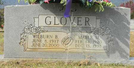 GLOVER, WILBURN B - Madison County, Alabama | WILBURN B GLOVER - Alabama Gravestone Photos
