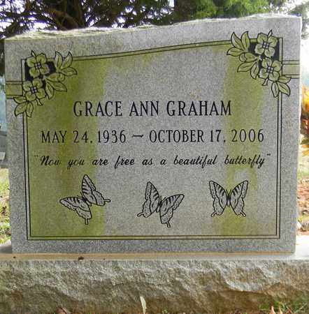 GRAHAM, GRACE ANN - Madison County, Alabama | GRACE ANN GRAHAM - Alabama Gravestone Photos