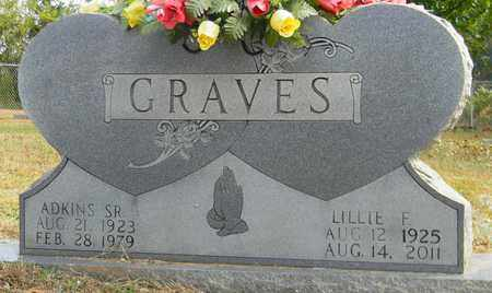 GRAVES, LILLIE F - Madison County, Alabama | LILLIE F GRAVES - Alabama Gravestone Photos
