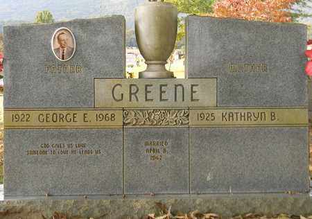 GREENE, GEORGE E - Madison County, Alabama | GEORGE E GREENE - Alabama Gravestone Photos