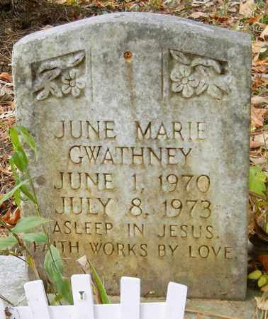 GWATHNEY, JUNE MARIE - Madison County, Alabama | JUNE MARIE GWATHNEY - Alabama Gravestone Photos
