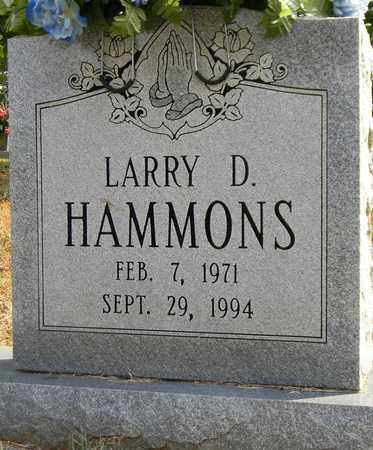 HAMMONS, LARRY D - Madison County, Alabama | LARRY D HAMMONS - Alabama Gravestone Photos