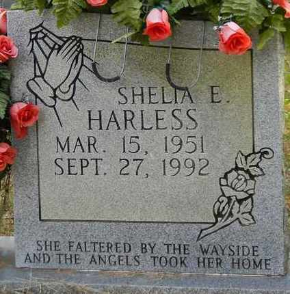 HARLESS, SHELIA E - Madison County, Alabama | SHELIA E HARLESS - Alabama Gravestone Photos