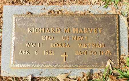 HARVEY (VETERAN 3 WARS), RICHARD M - Madison County, Alabama | RICHARD M HARVEY (VETERAN 3 WARS) - Alabama Gravestone Photos