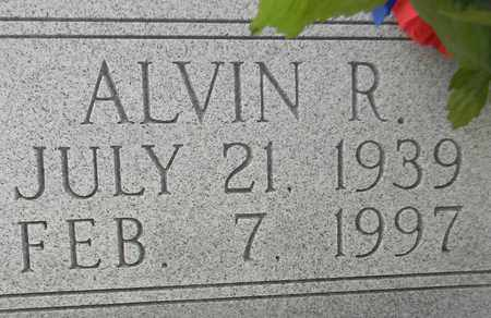 HENSHAW (CLOSEUP), ALVIN R - Madison County, Alabama | ALVIN R HENSHAW (CLOSEUP) - Alabama Gravestone Photos