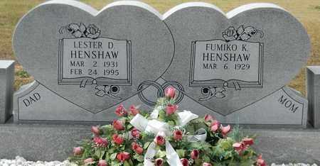 HENSHAW, LESTER D - Madison County, Alabama | LESTER D HENSHAW - Alabama Gravestone Photos
