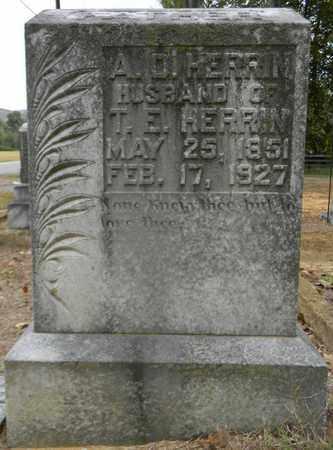 HERRIN, A D - Madison County, Alabama   A D HERRIN - Alabama Gravestone Photos