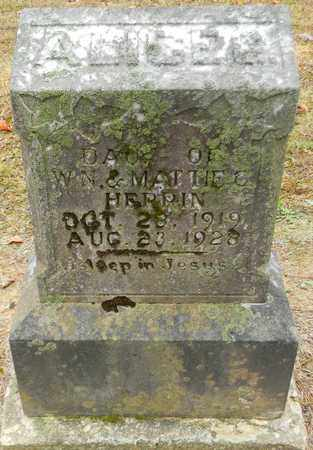 HERRIN, ALICE G - Madison County, Alabama | ALICE G HERRIN - Alabama Gravestone Photos