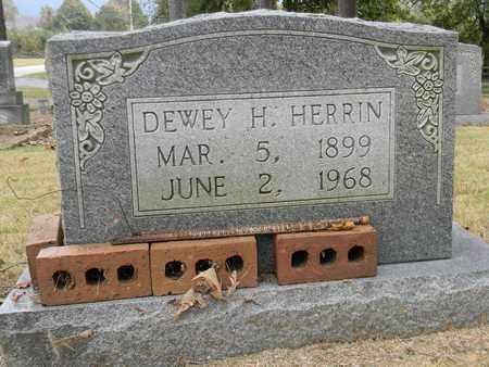 HERRIN, DEWEY H - Madison County, Alabama | DEWEY H HERRIN - Alabama Gravestone Photos