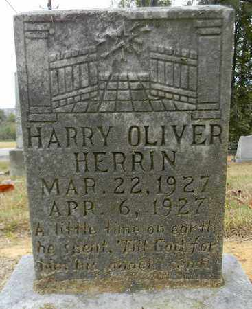 HERRIN, HARRY OLIVER - Madison County, Alabama   HARRY OLIVER HERRIN - Alabama Gravestone Photos