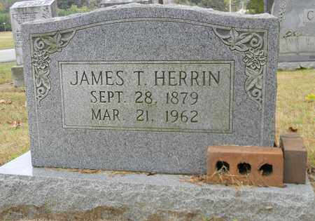 HERRIN, JAMES T - Madison County, Alabama | JAMES T HERRIN - Alabama Gravestone Photos