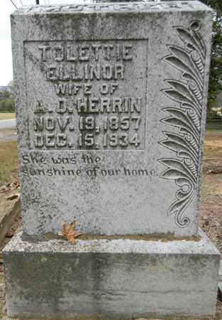 HERRIN, TOLETTIE ELLINOR - Madison County, Alabama | TOLETTIE ELLINOR HERRIN - Alabama Gravestone Photos