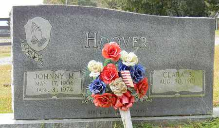 HOOVER, JOHNNY M - Madison County, Alabama | JOHNNY M HOOVER - Alabama Gravestone Photos